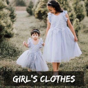 Girls adorable New And pre-loved gently used